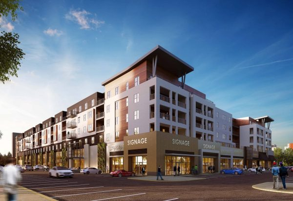 The Mark at Fishers District Rendering by Studio M
